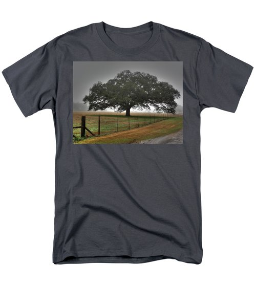 Men's T-Shirt  (Regular Fit) featuring the photograph Spanish Oak I by Lanita Williams