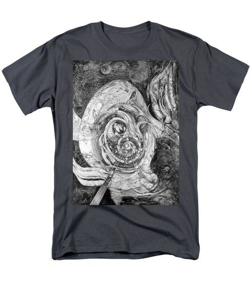 Men's T-Shirt  (Regular Fit) featuring the painting Spiral Rapture 2 by Otto Rapp