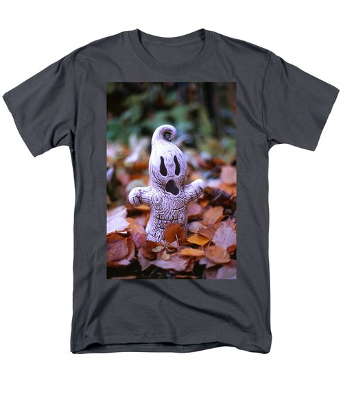 Men's T-Shirt  (Regular Fit) featuring the photograph Spooky Autumn by Aaron Aldrich