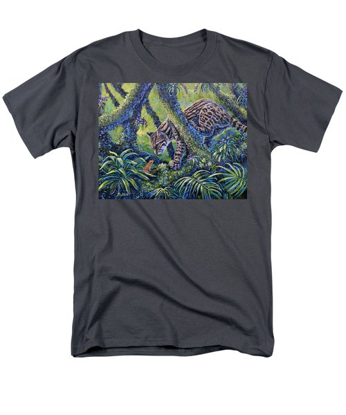 Spotted Men's T-Shirt  (Regular Fit) by Gail Butler