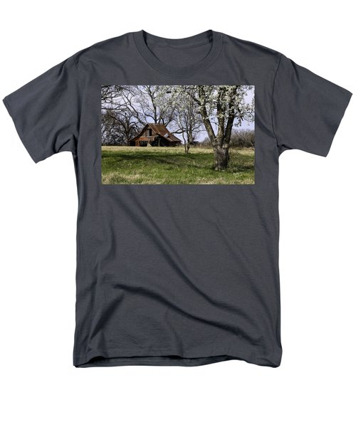 Men's T-Shirt  (Regular Fit) featuring the photograph Spring At The Farm In Tyler Tx by Betty Denise