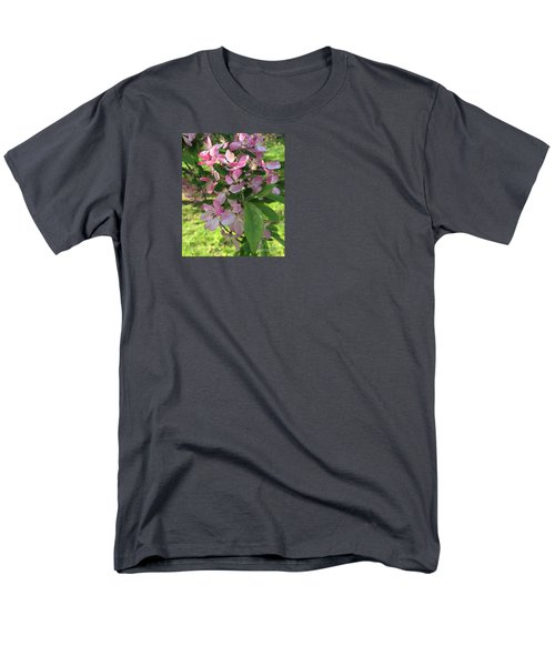 Spring Blossoms - Flower Photography Men's T-Shirt  (Regular Fit) by Miriam Danar
