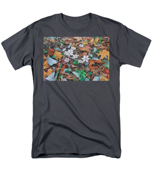 Men's T-Shirt  (Regular Fit) featuring the painting Spring Forward by Pamela Clements