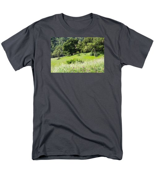 Spring Hike Men's T-Shirt  (Regular Fit) by Suzanne Luft