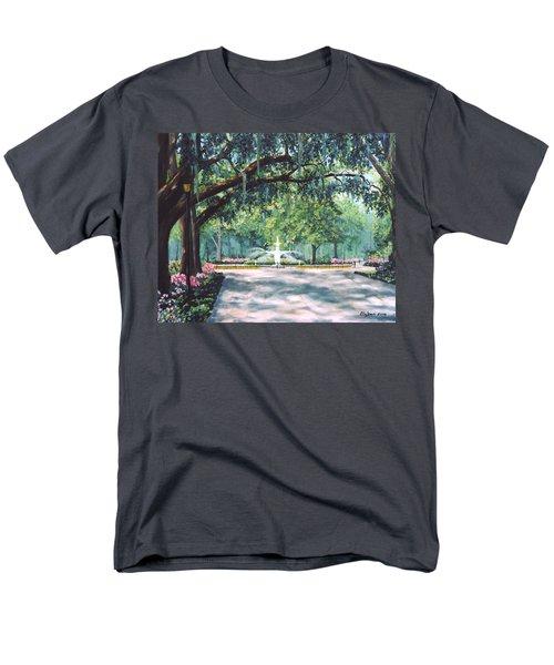 Spring In Forsythe Park Men's T-Shirt  (Regular Fit) by Stanton Allaben