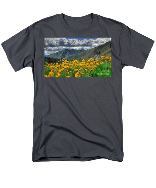 Men's T-Shirt  (Regular Fit) featuring the photograph Springtime At Gallagher by Sam Rosen