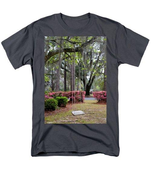 Springtime Swing Time Men's T-Shirt  (Regular Fit) by Carla Parris