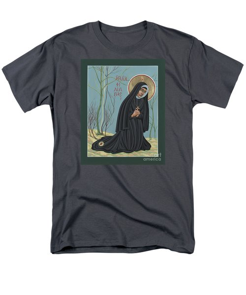 Men's T-Shirt  (Regular Fit) featuring the painting St. Philippine Duchesne 259 by William Hart McNichols