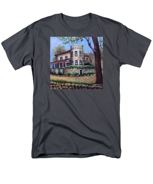Stags' Leap Manor House Men's T-Shirt  (Regular Fit) by Rita Brown