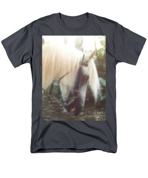 Stallion Men's T-Shirt  (Regular Fit) by Patricia Keller