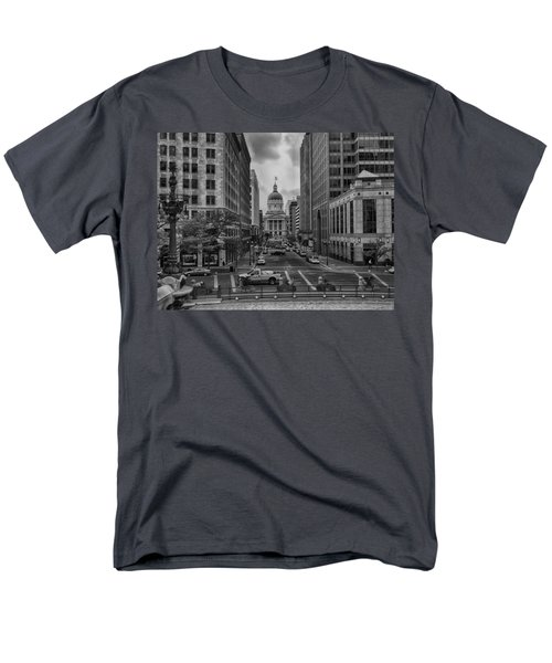 Men's T-Shirt  (Regular Fit) featuring the photograph State Capitol Building by Howard Salmon
