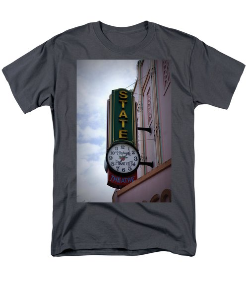 State Theatre Sign Men's T-Shirt  (Regular Fit) by Laurie Perry