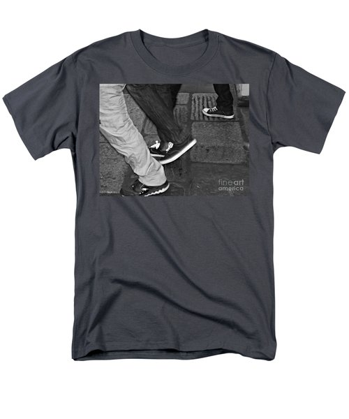 Men's T-Shirt  (Regular Fit) featuring the photograph Stepping Out by Clare Bevan