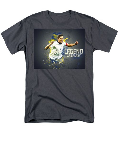 Steven Gerrard Men's T-Shirt  (Regular Fit) by Taylan Apukovska