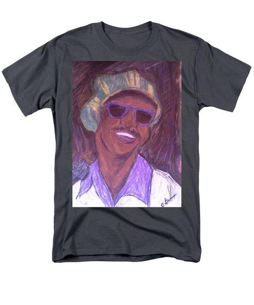 Stevie Wonder 2 Men's T-Shirt  (Regular Fit) by Christy Saunders Church
