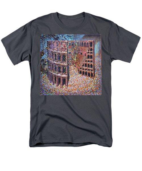 Still Stadium Men's T-Shirt  (Regular Fit) by Mark Jones
