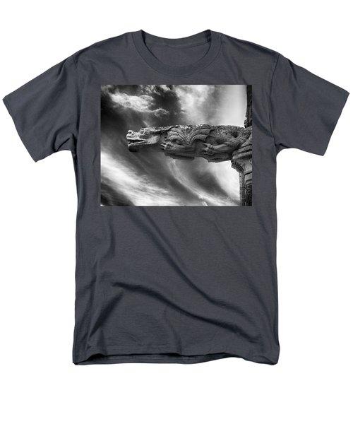 Storm Dragon Men's T-Shirt  (Regular Fit) by Diana Haronis