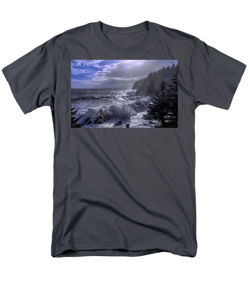 Storm Lifting At Gulliver's Hole Men's T-Shirt  (Regular Fit) by Marty Saccone