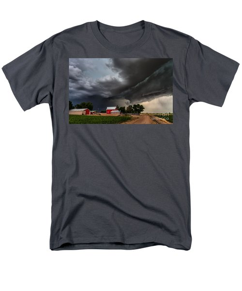 Storm Over The Farm Men's T-Shirt  (Regular Fit) by Steven Reed