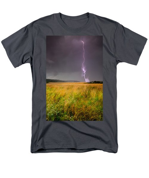Storm Over The Wheat Fields Men's T-Shirt  (Regular Fit) by Eti Reid