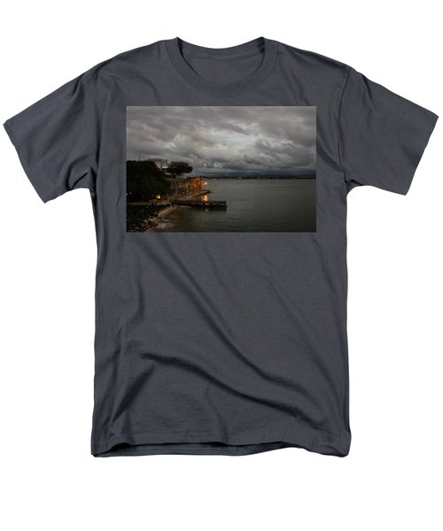 Men's T-Shirt  (Regular Fit) featuring the photograph Stormy Puerto Rico  by Georgia Mizuleva