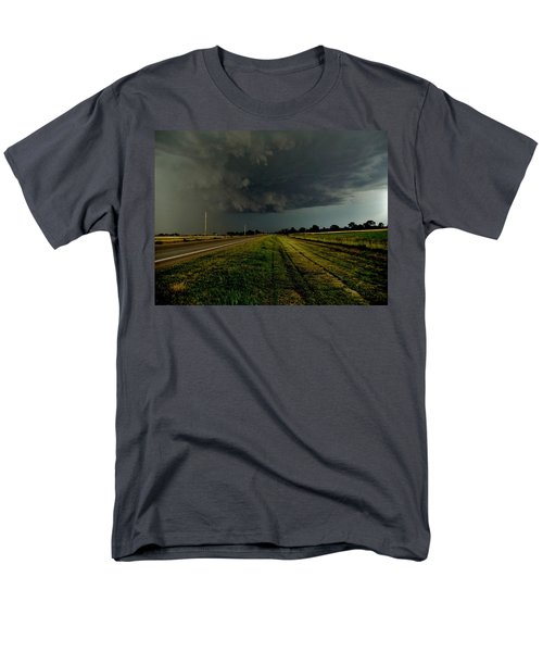 Stormy Road Ahead Men's T-Shirt  (Regular Fit) by Ed Sweeney