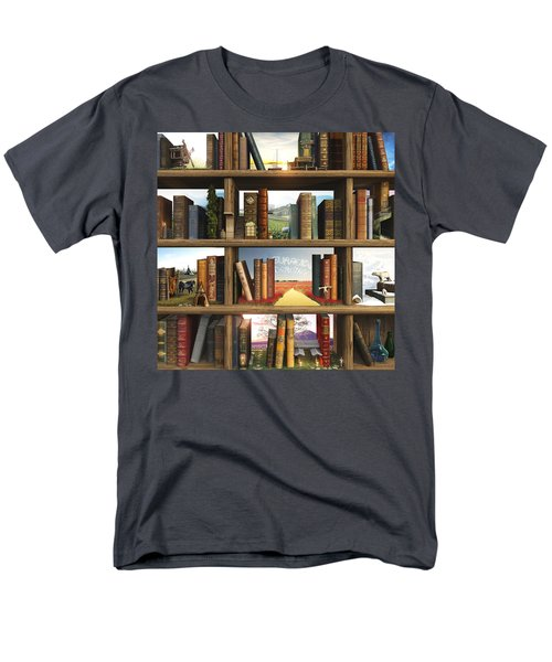 Storyworld Men's T-Shirt  (Regular Fit) by Cynthia Decker