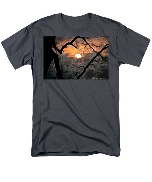 Men's T-Shirt  (Regular Fit) featuring the photograph Strange Morning by EricaMaxine  Price