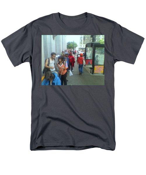 Street Scene Men's T-Shirt  (Regular Fit) by David Trotter