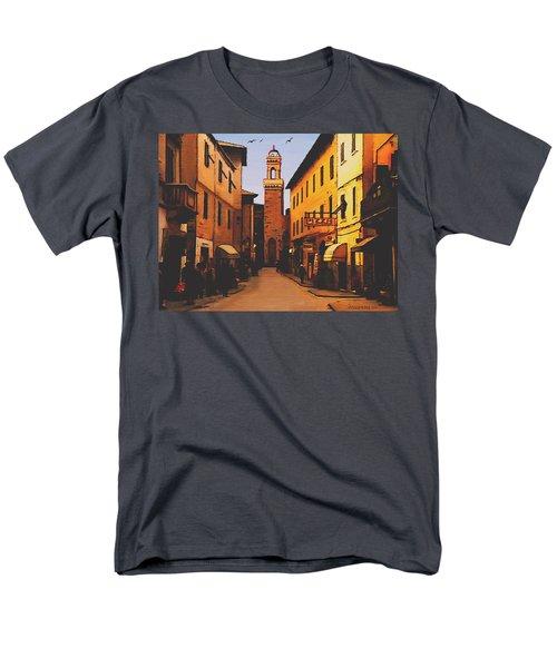 Street Scene Men's T-Shirt  (Regular Fit) by Sophia Schmierer