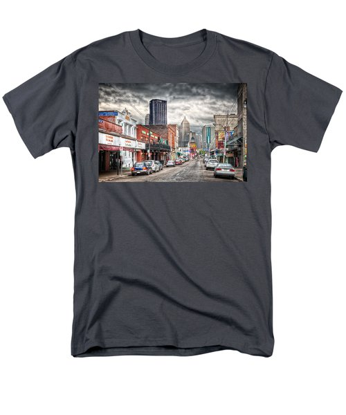 Strip District Pittsburgh Men's T-Shirt  (Regular Fit) by Emmanuel Panagiotakis