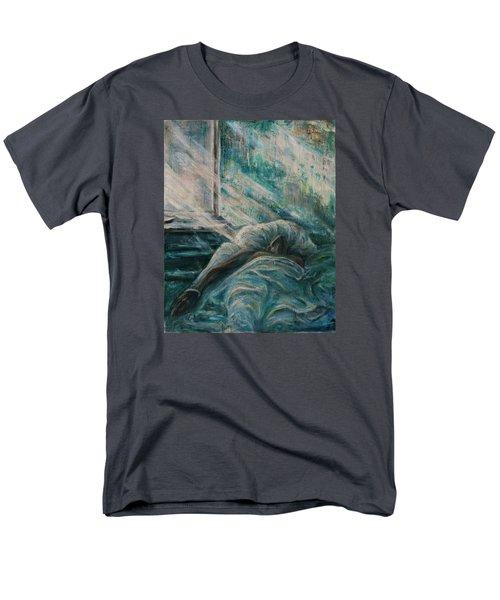 Struggling... Men's T-Shirt  (Regular Fit) by Xueling Zou