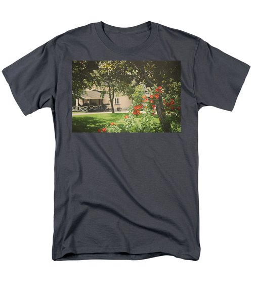 Men's T-Shirt  (Regular Fit) featuring the photograph Summer In The Park by Ari Salmela