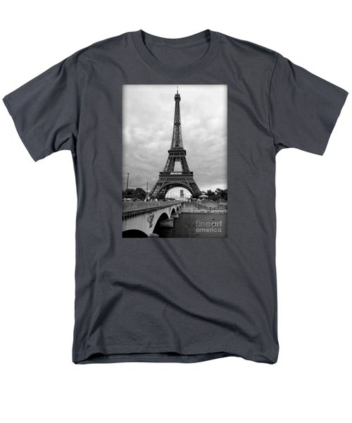 Summer Storm Over The Eiffel Tower Men's T-Shirt  (Regular Fit)