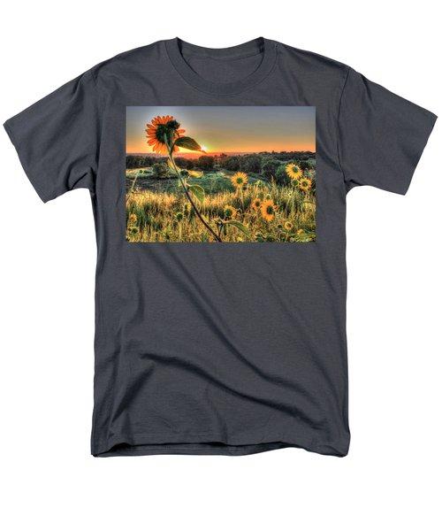 Sunflower Sunrise 1 Men's T-Shirt  (Regular Fit) by Diane Alexander