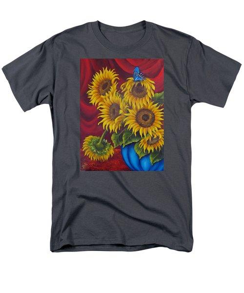 Sunflowers Men's T-Shirt  (Regular Fit) by Katia Aho