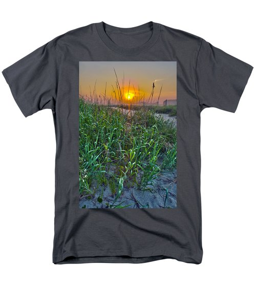 Men's T-Shirt  (Regular Fit) featuring the photograph Sunrise At Myrtle Beach by Alex Grichenko