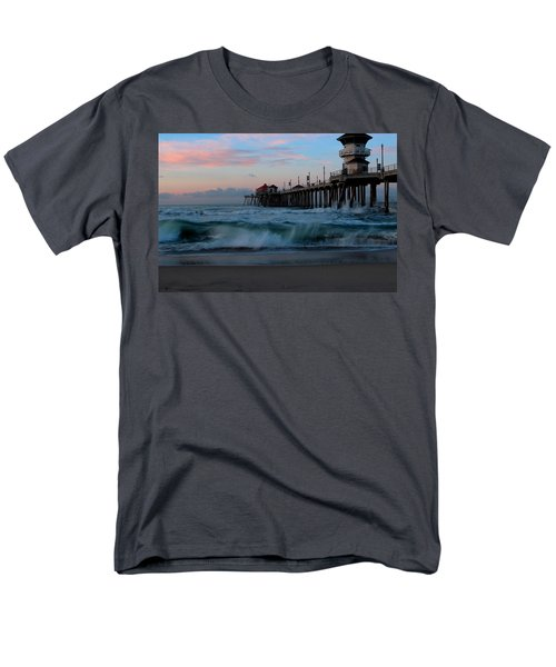 Sunrise At The Pier Men's T-Shirt  (Regular Fit) by Duncan Selby