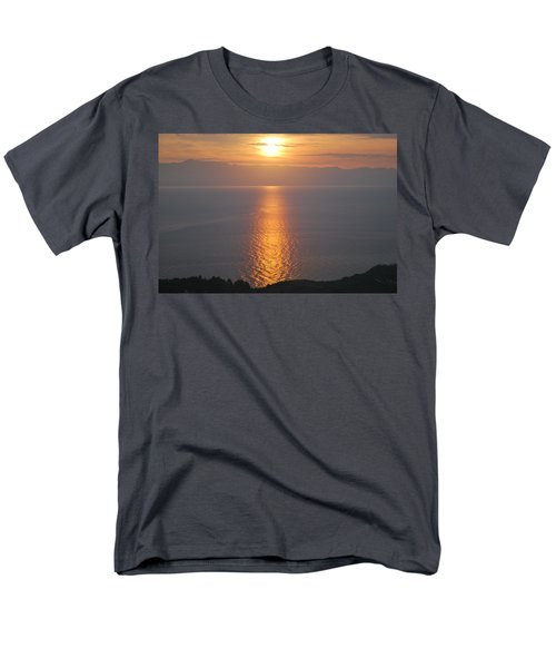 Men's T-Shirt  (Regular Fit) featuring the photograph Sunrise Erikousa 1 by George Katechis