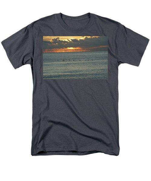 Men's T-Shirt  (Regular Fit) featuring the photograph Sunrise In Florida Riviera by Rafael Salazar