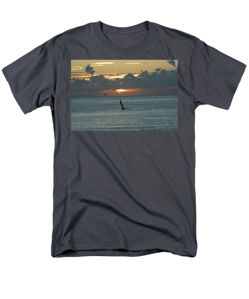 Men's T-Shirt  (Regular Fit) featuring the photograph Sunrise In The Florida Riviera by Rafael Salazar