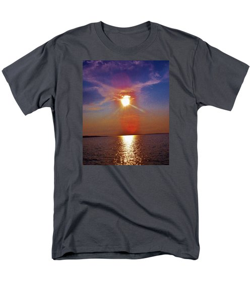 Men's T-Shirt  (Regular Fit) featuring the photograph Sunrise Over The Big Mac by Daniel Thompson