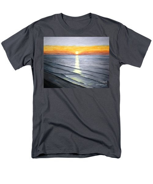 Men's T-Shirt  (Regular Fit) featuring the painting Sunrise by Stacy C Bottoms