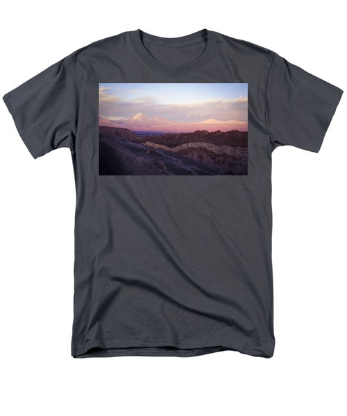 Men's T-Shirt  (Regular Fit) featuring the photograph Sunset At The Valley Of The Moon by Lana Enderle
