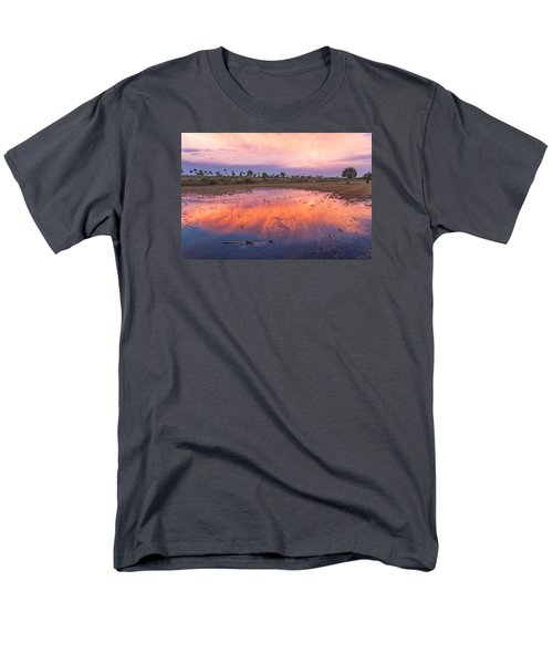 Men's T-Shirt  (Regular Fit) featuring the photograph Everglades Afterglow by Doug McPherson