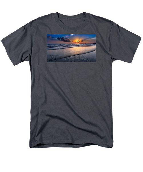 Sunset  Men's T-Shirt  (Regular Fit) by Hayato Matsumoto