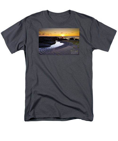 Men's T-Shirt  (Regular Fit) featuring the photograph Sunset In Iceland by Gunnar Orn Arnason
