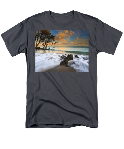 Sunset In Paradise Men's T-Shirt  (Regular Fit) by Mike  Dawson