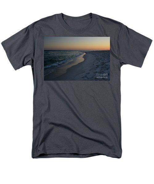 Sunset Navarre Beach Men's T-Shirt  (Regular Fit) by Janice Spivey