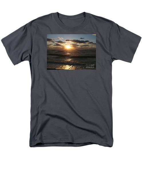 Sunset On Venice Beach  Men's T-Shirt  (Regular Fit) by Christiane Schulze Art And Photography